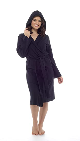 70ba5876e0 CityComfort Pure Cotton Dressing Gown Women Waffle Kimono Lightweight Ladies  Robe  Amazon.co.uk  Clothing