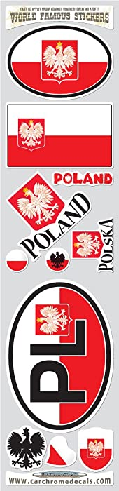 Top 10 Polska Sticker Laptop