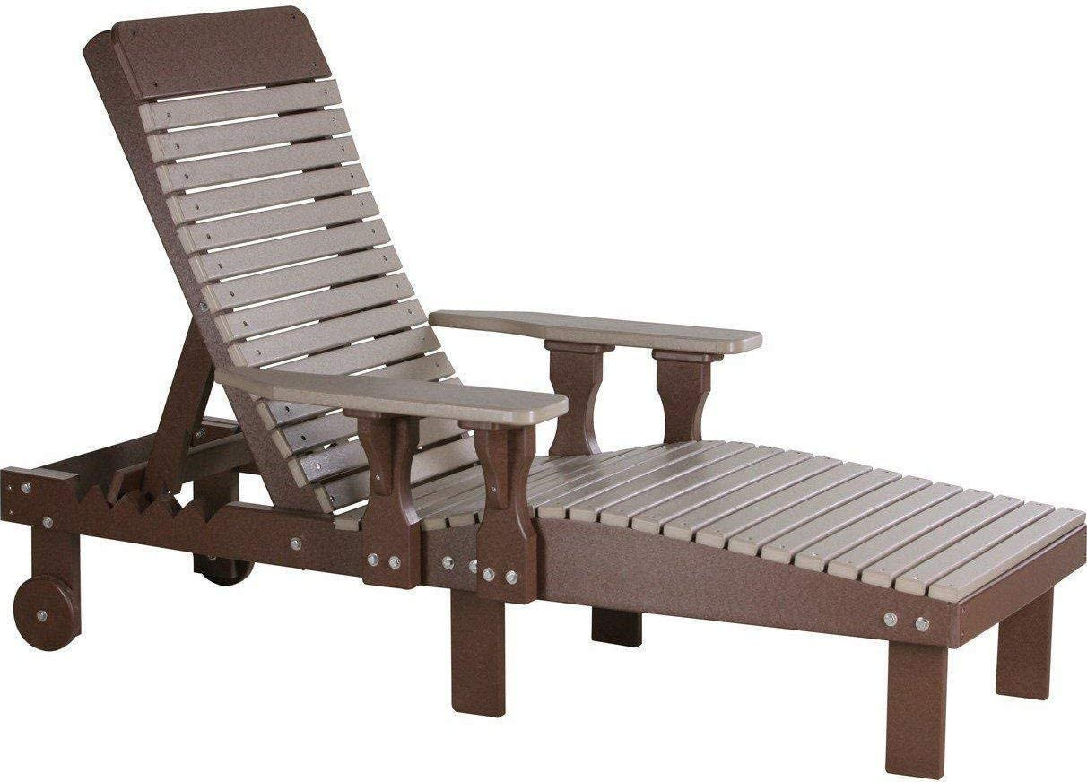 LuxCraft Recycled Plastic Lounge Chair