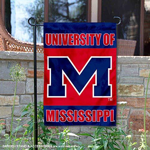 Mississippi Rebels Garden Flag and Yard ()