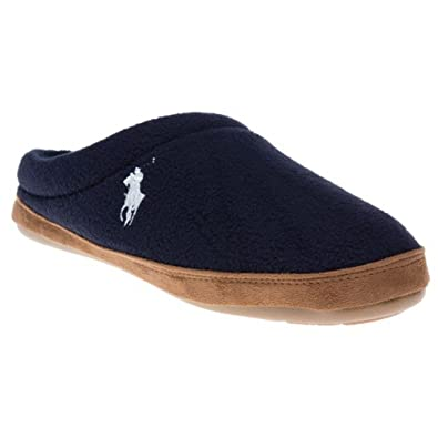 Mens Polo Ralph Lauren Jacque Scuff Slippers  Amazon.co.uk  Shoes   Bags e3c46661d709