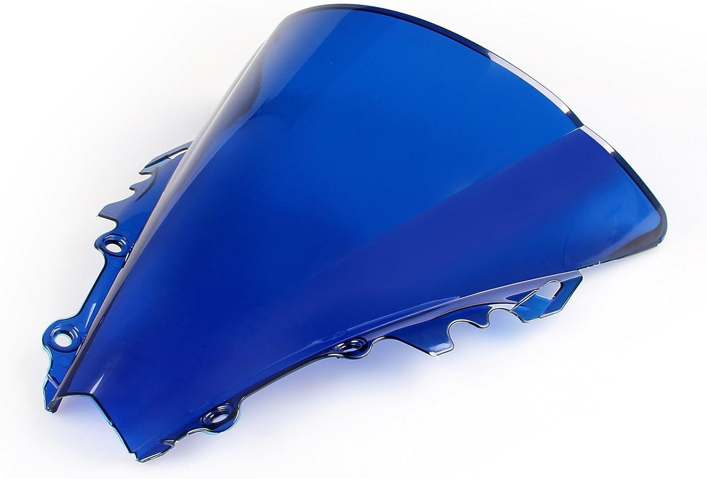 Artudatech Parabrisas para motocicleta protector de viento para Yamaha YZF R6 2006-2007.