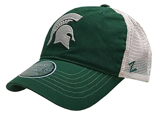 Amazon.com  Zephyr Hats Michigan State University Spartan Banjo Hat ... 5aecc6b5c68