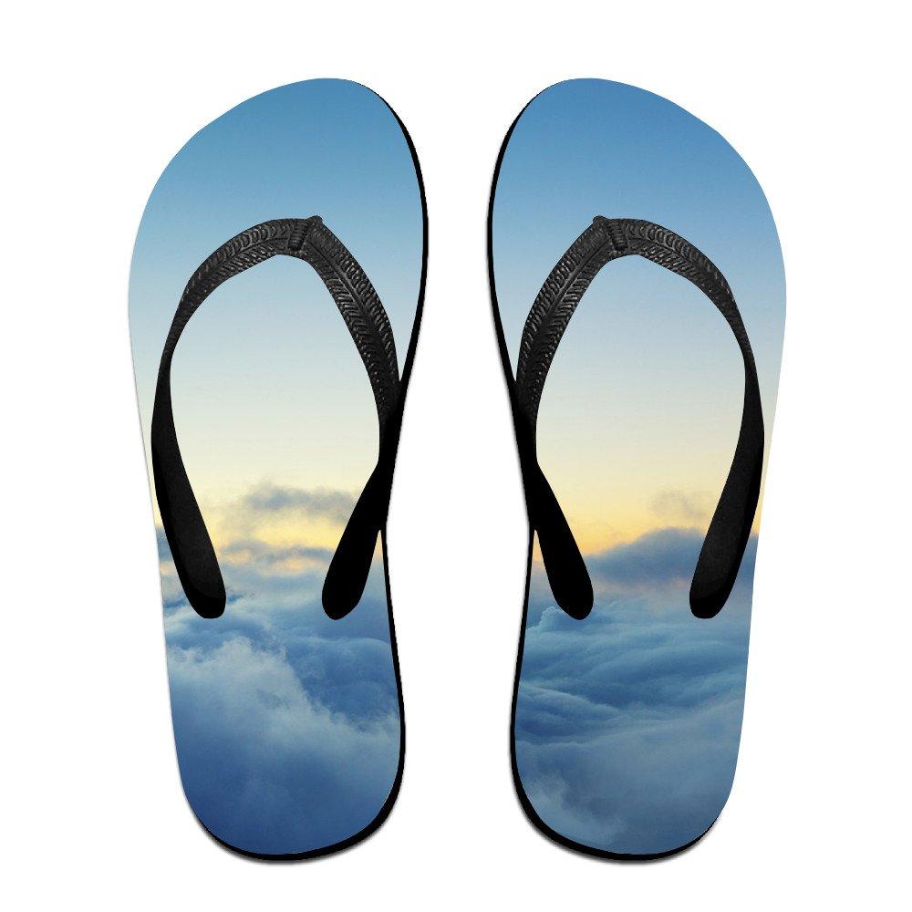 JESUS SAUCEDO Colorful Sky Stylish V Flip Flops Beach Slippers Chinela Baboosh Babouche Sandals