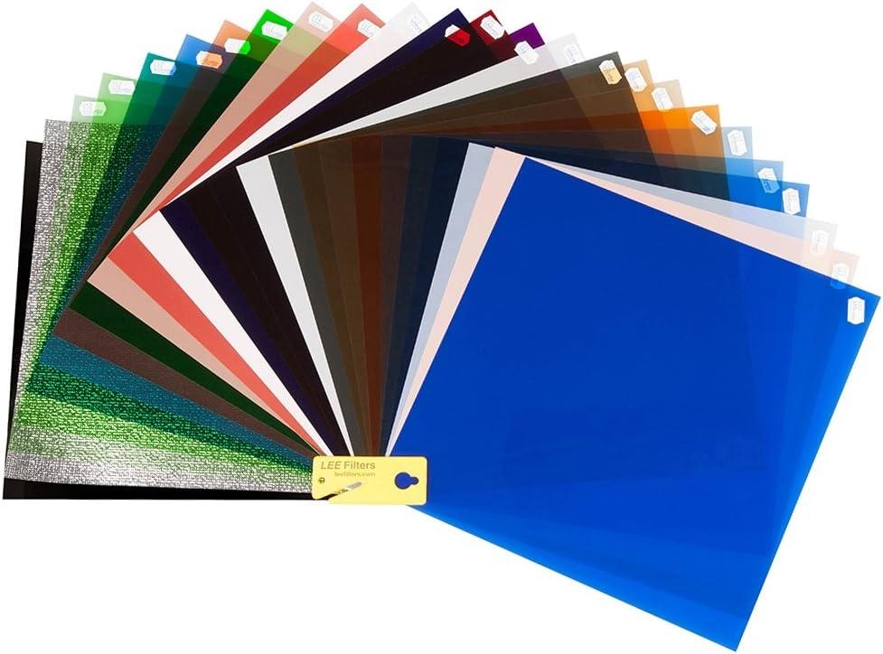 Lee Master Location Pack Ultimatives Farbfilter Filterfolien Set Zur Korrektur Der Farbtemperatur Und Farbe Eines Studioblitzes
