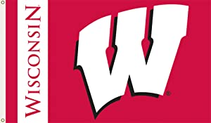 NCAA Wisconsin Badgers 3-by-5-foot Flag