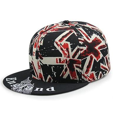 Sombrero de ala plana bandera de arroz gorra de béisbol impresión ...