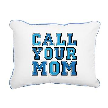 Amazon.com: CafePress – Call tu madre Rectangula – 12
