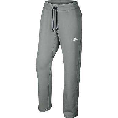 Nike Mens Intentional Open Hem Fleece Sweatpants Dark Grey/White 598867-063  Size Small