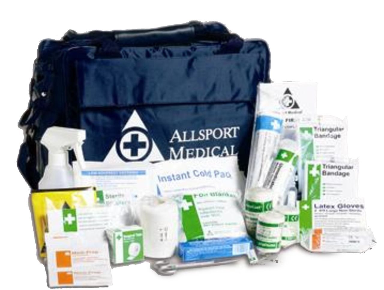 CreativeMindsUK Sport Verletzungen Notfall Behandlung Schmerzlinderung Medical Reisetasche und Erste-Hilfe-Set