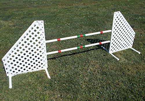 Dog Agility Wing Jump Set by Agility by Carlson