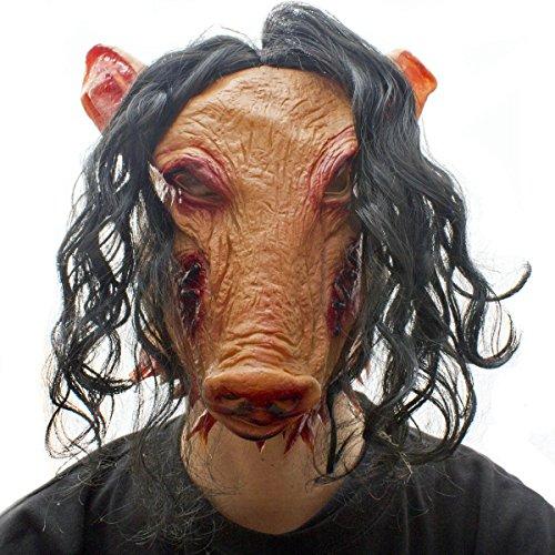 Horror Schweinemaske Halloween