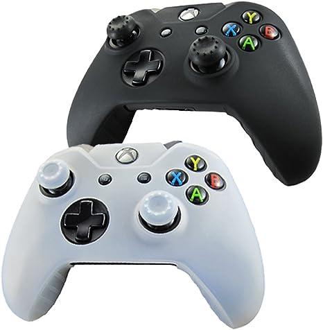 Pandaren® Piel Fundas Protectores para el Mando Xbox One x 2 + ...