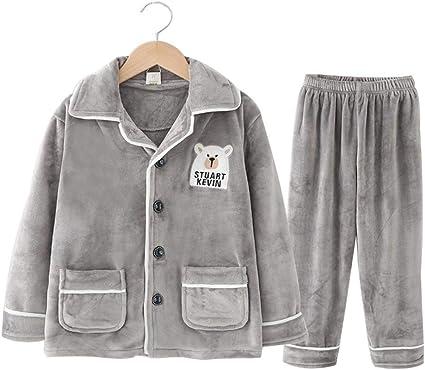 HUACANG Pijamas Juveniles Infantiles. Tela De Vellón Coral ...