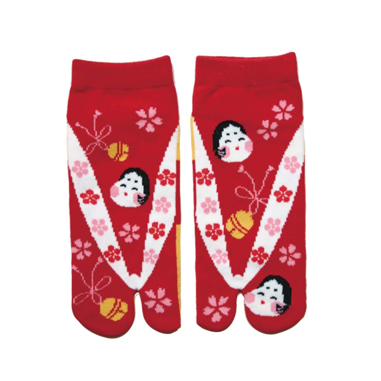 Amazon.com: Japanese Samurai Ninja Tabi Socks; Otafuku-San ...