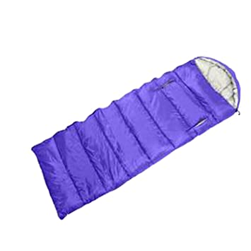 mitefu compacto Envelope saco de dormir Primavera Otoño dormir Pad con tapas y elástico Manos para