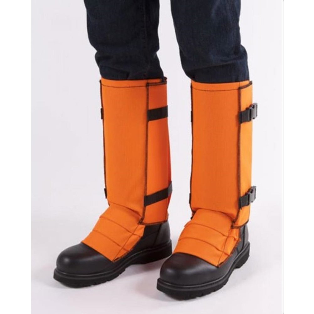 Crackshot Men's Snake Bite Proof Guardz Gaiters, Blaze Orange, XX-Large by Crack Shot