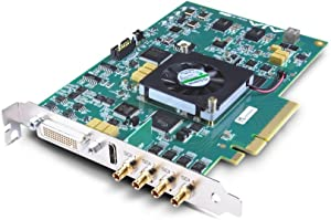 AJA KONA 4 8-Lane PCIe 2.0 Video and Audio Desktop I/O Card, 4K/UltraHD 4:2:2 and 4:4:4 Video Output