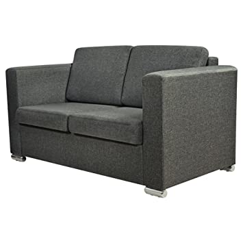 Vidaxl 2 Sitzer Sofa Polstersofa Loungesofa Couch Sitzmöbel Stoff
