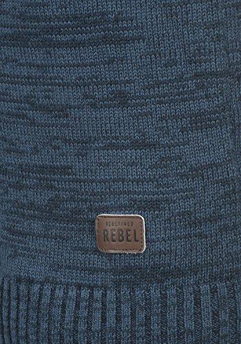 Blue Cappuccio Felpa Maglia Cotone Con In Maurice Uomo Da Redefined Rebel True 100 F4qSwqxH
