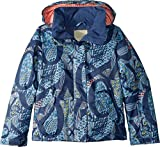 Roxy Little Jetty Girl Snow Jacket, Crown Blue_FREESPACE, 14/XL
