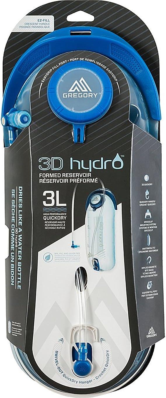 Gregory 77919-5583 3D Hydro Reservoir 3 L bleu