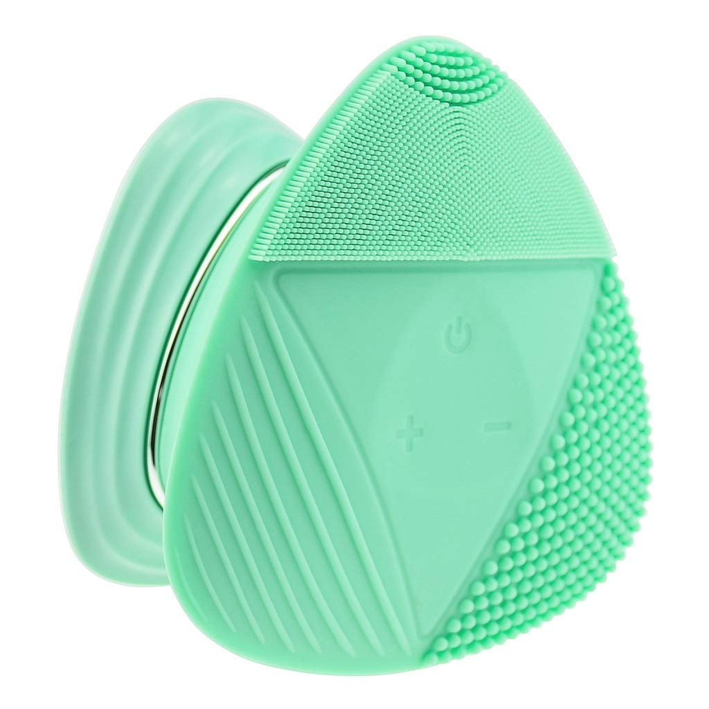 Facial cleansing brush Facial Cleaner, Cleansing Instrument, Ultrasonic Vibration Beauty Instrument Washing Instrument Electric Silicone Washing Facial Cleansing Instrument Wholesale Pore Clean