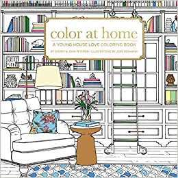 Amazon.com: Color At Home: A Young House Love Coloring Book ...