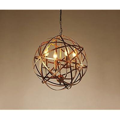 LOFT Vintage Style industriel Restaurant Bar Bar Simple tête Lampe suspension en fer