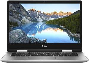 Dell Inspiron 14 (2In1) Laptop, i5482-7175SLV, 8Th Gen Intel Core i7-8565U 1.8GHz,14