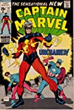 img - for Captain Marvel 17, October 1969 book / textbook / text book
