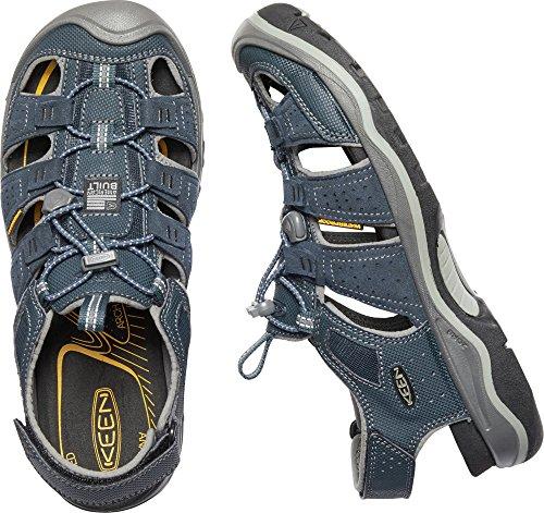 Kial Hommes Rialto H2, Sandale Pour Lextérieur Robe Blues / Gris Neutre
