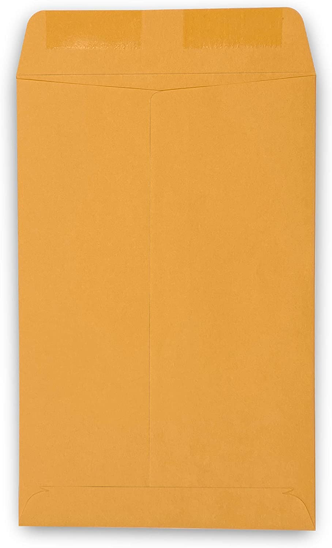 "Guardian Catalog Envelopes 250//Box 6/"" x 9/"" Brown Kraft"
