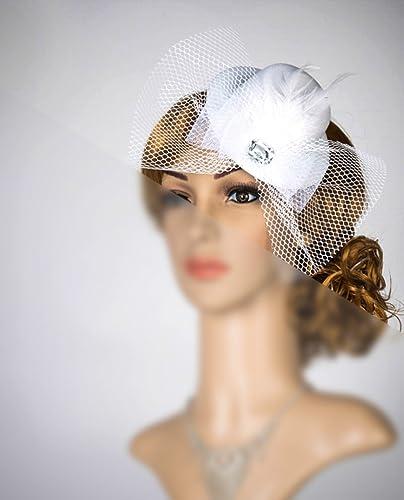 dd903d471c31f Amazon.com  Women S Tea Party Hat Fascinator Church Hat