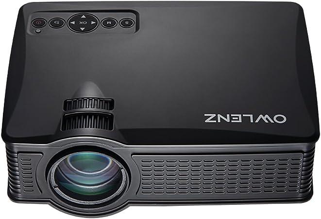 owlenz® SD50 Plus LED Mini proyector LCD Multimedia portátil Cine ...