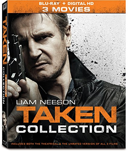 Taken 3-Movie Collection [Blu-ray] (Taken By The Best)