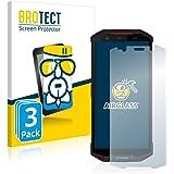 BROTECT Pellicola Vetro Compatibile con Doogee S70 [3 Pezzi] - Vetro Prottetivo, Flessibile 9H, AirGlass
