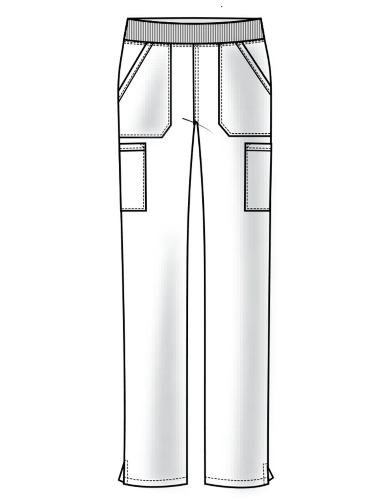 Cherokee Workwear Professionals WW170 Cargo Pant- Royal- X-Large Tall by Cherokee Workwear Professionals (Image #4)