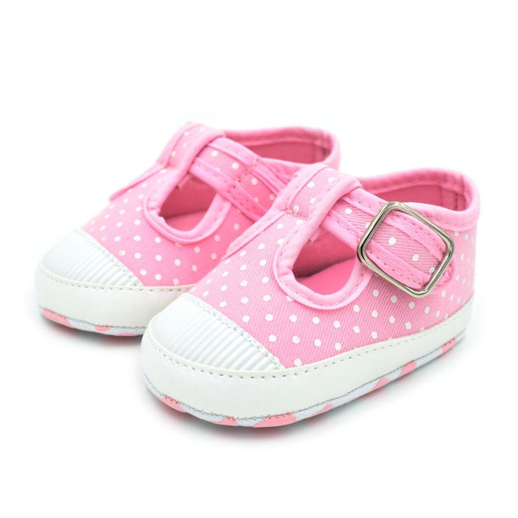 Baby Shoes Spring Autumn Baby Girls Shoes Kids Soft Sole Anti-slippolka Dot First Walkers Casual Walking Crib Shoes Durable In Use Mother & Kids