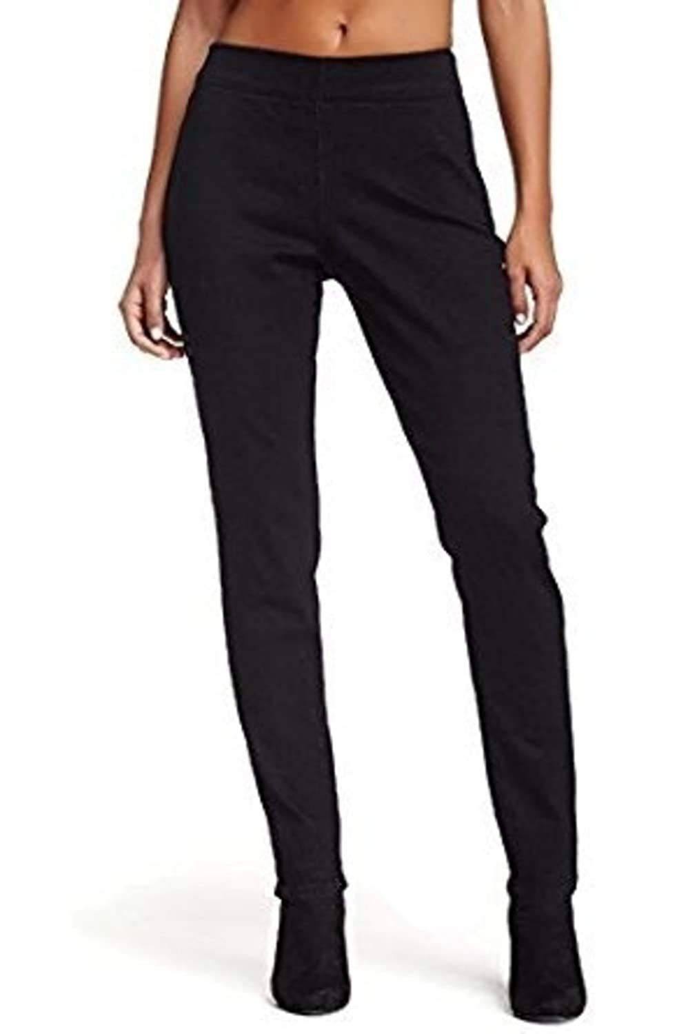 NYDJ Evie Pull On Legging Jean Black Womens Not Your Daughters Jeans Size 4P