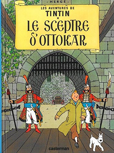 Le Sceptre D'Ottokar MINI ALBUM (Aventures de Tintin) (French Edition)