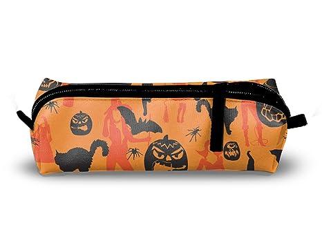 Amazon.com: Estuche para lápices de Halloween, bolsa de ...