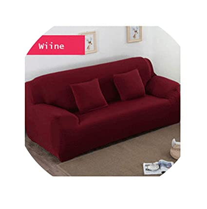Amazon.com: No Buy No Bye 2 Pcs Sofa Cover Universal Couch ...