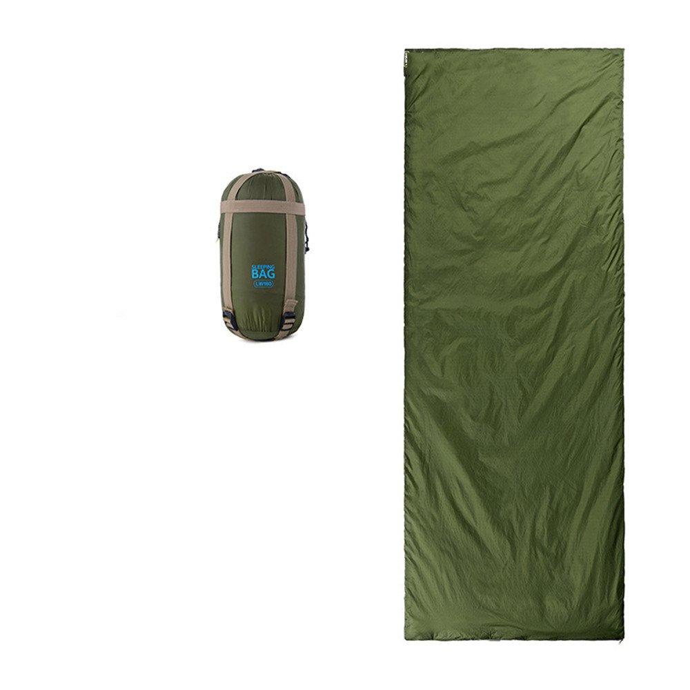 RFVBNM Mini saco de dormir ultraligero al aire libre ultra-pequeño tamaño para acampar senderismo escalada 190 * 75 cm, azul oscuro: Amazon.es: Deportes y ...