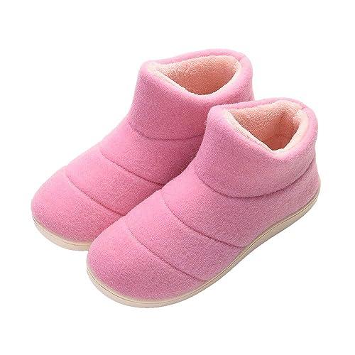 ... De Invierno Forrada Zapatillas De Lona Regalo De Acción De Gracias Interior Zapatillas De Casa Al Aire Libre Botines: Amazon.es: Zapatos y complementos