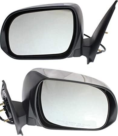 Kool Vue Mirror For 2012-2015 Toyota Tacoma With Signal Light Chrome Right