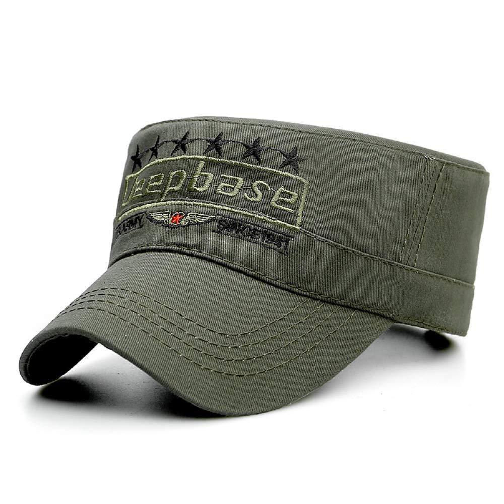zlhcich Sombrero de Camuflaje del ejército Gorra Plana Masculina ...