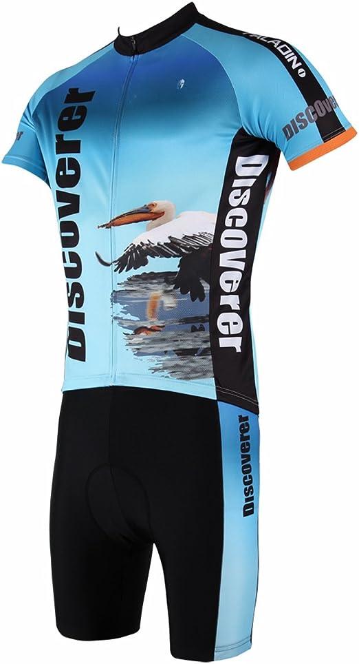 YGBH Ropa de Ciclismo, Equipo de Ciclismo de montaña para Hombre ...
