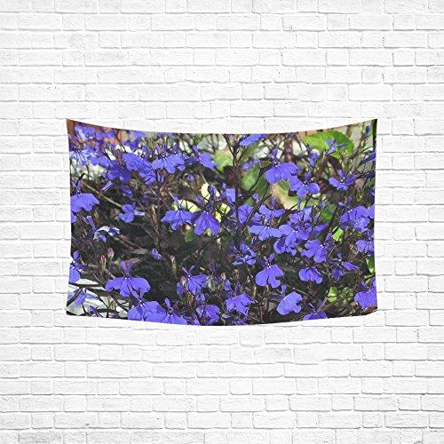 ue Flowers Dark Hippie Tapestries Wall Hanging Flower Tapestry Wall Hanging Dorm Decor For Living Room Bedroom 60 X 40 Inch ()