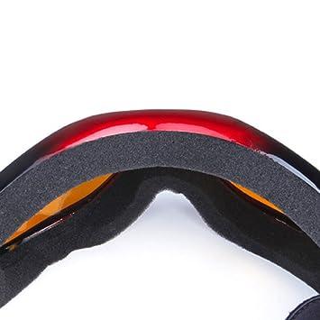 Originaltree sport outdoor occhiali di protezione UV lente singola skate ciclismo occhiali da sci, occhiali, Matte Black
